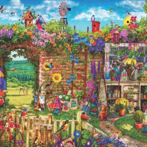 Garden Gate 1000 Piece Anatolian Puzzle