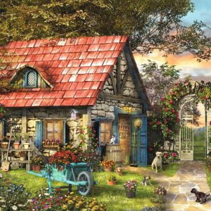 Garden Shed 500 Extra Large Piece Jigsaw Puzzle