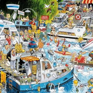 Graham Thompson - Cruise Chaos 1000 Piece Jigsaw Puzzle