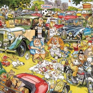 Graham Thompson - Picnic in the Park 1000 Piece Jigsaw Puzzle