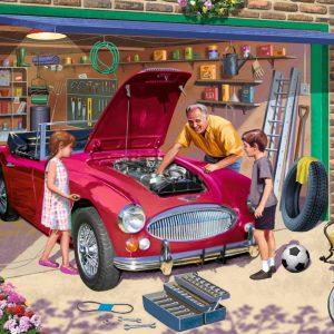 Grandad's Garage 500 Piece Jigsaw Puzzle