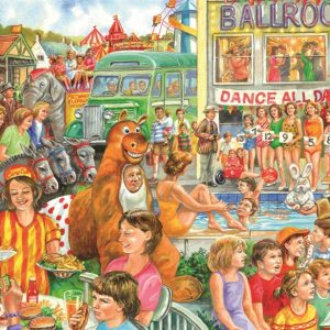 Holiday Camp 500 Extra Large Piece Jigsaw Puzzle