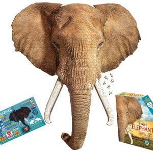 I am Elephant 700 Piece Jigsaw Puzzle - Madcapp