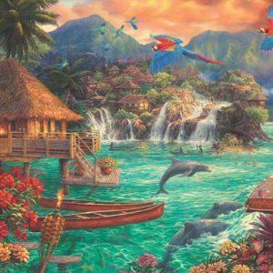 Island Life 2000 Piece Jigsaw Puzzle - Anatolian