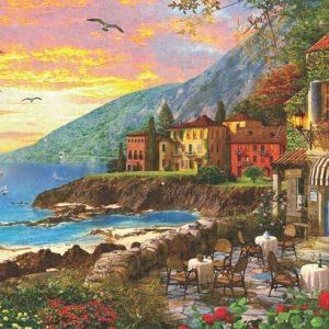 Island Sunset 2000 Piece Anatolian Puzzle