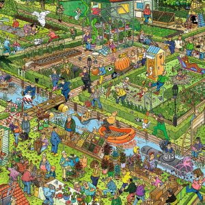 JVH The Vegetable Garden 1000 Piece Jigsaw Puzzle