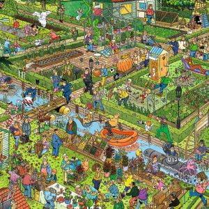 JVH The Vegetable Garden 1000 Piece Jigsaw Puzzle