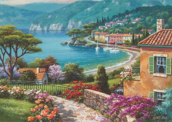 Lakeside 1500 Piece Anatolian Jigsaw Puzzle