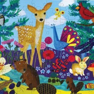 Life on Earth 100 Piece Jigsaw Puzzle - eeBoo