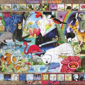 Natural Sciences 100 Piece Jigsaw Puzzle - eeBoo