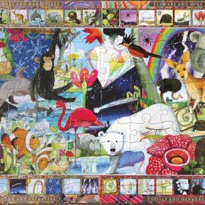 Natural Sciences 100 Piece Jigsaw Puzzle - eeBoo