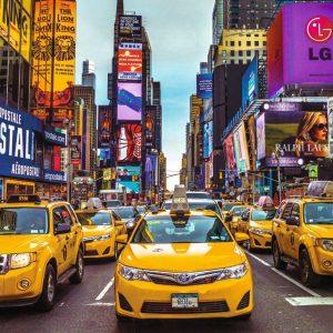 New York Taxi 1500 Piece by Jumbo