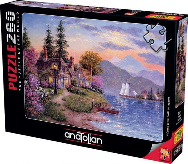 Serenity 260 Piece Jigsaw Puzzle - Anatolian