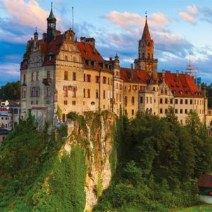 Sigmaringen Castle Germany 1000 Piece Panoramic Jigsaw Puzzle
