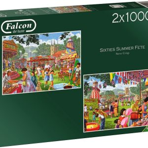 Sixties Summer Fete 2 x 1000 Piece Puzzle
