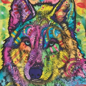 Stare of the Wolf 1000 Piece Jigsaw Puzzle - Anatolian
