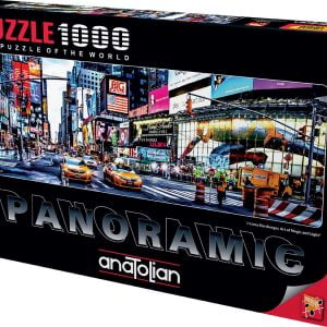 Times Square 1000 Piece Panoramic Puzzle