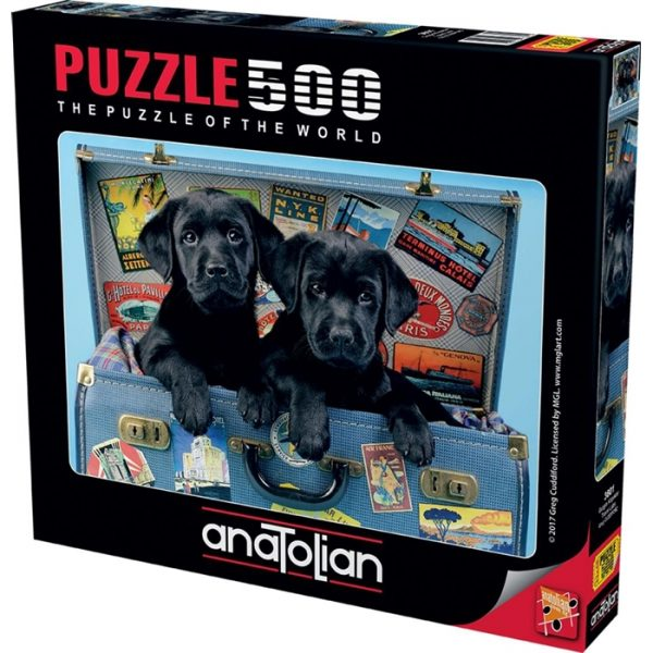 Travel Labs 500 Piece Anatolian Jigsaw Puzzle