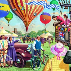 Up & Away 1000 Piece Puzzle - Falcon de luxe