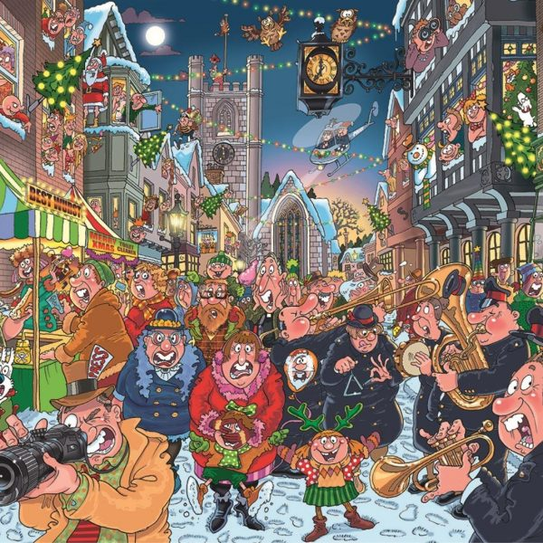 Wasgij 12 Christmas – The Big Turn on 1000 Piece Jigsaw Puzzle