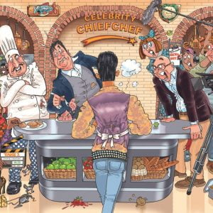 Wasgij Original 26 Celebrity chief Chef 1000 Piece Puzzle