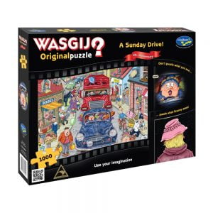 Wasgij Original - A Sunday Drive 1000 Piece Jigsaw Puzzle - Holdson