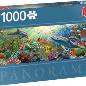 Water paradise 1000 Piece Panoramic Jigsaw Puzzle