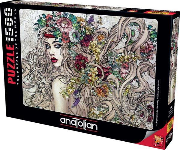 Flower Power 1500 Piece Anatolian Jigsaw Puzzle