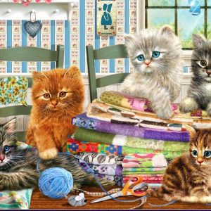 Adorables - Kitten Capers 300 XL Piece Holdson Puzzle