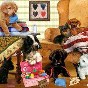 Adorables - Playful Puppies 300 XL Piece Holdson Puzzle