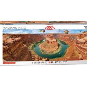 Airpano - Horseshoe Bend, .Arizona 1000 Piece Panoramic Puzzle