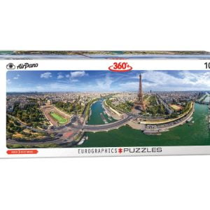 Airpano - Paris, France 1000 Piece Panoramic Puzzle