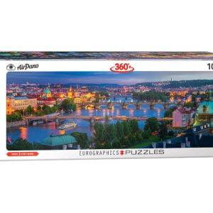 Airpano - Prague 1000 Piece Panoramic Puzzle