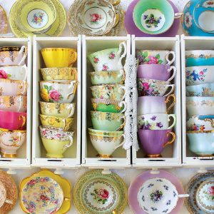 Colourful Tea cups 1000 Piece - Eurographics