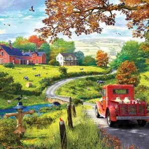 Country Drive 1000 Piece Jigsaw Puzzle
