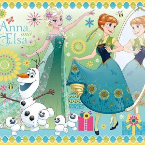 Disney Frozen Fever - Forever Family 100 Piece Puzzle