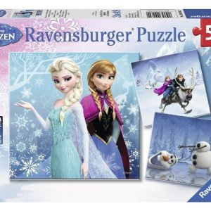 Disney Frozen - Winter Adventures 3 x 49 Piece Puzzle