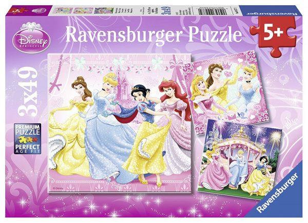 Disney Princess - Snow White 3 x 49 Piece Puzzle