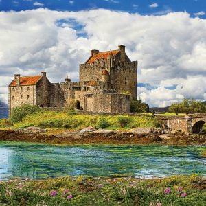Eilean Donan Castle 1000 Piece Jigsaw Puzzle