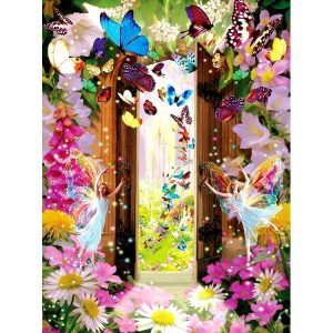 Fairy Door 1000 Piece Jigsaw Puzzle