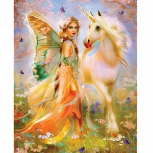 Fairy Princess and Unicorn