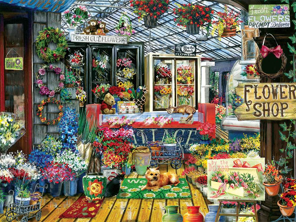 Flowers Jigsaw Puzzles At Puzzle Palace Australia