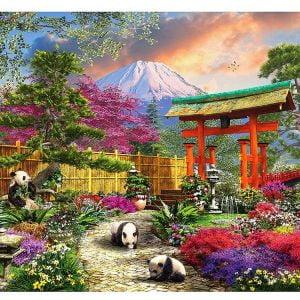 Fuji Flora 550 Piece Sunsout Jigsaw Puzzle
