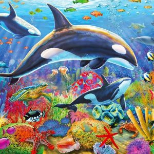 Gallery 4 - Orca Fun 300 XL Piece Holdson Jigsaw Puzzle
