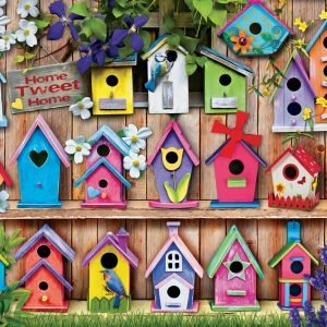 Home Tweet Home 1000 Piece Puzzle - Eurographics