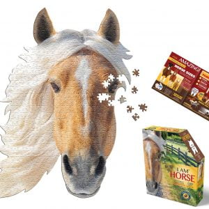 I am Horse 50 Piece Shaped Jigsaw Puzzle - Madd Capp