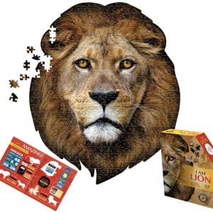 I am Lion 550 Piece Shaped Puzzle - Madd Capp