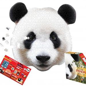 I am Panda 550 Piece Shaped Puzzle - Madd Capp