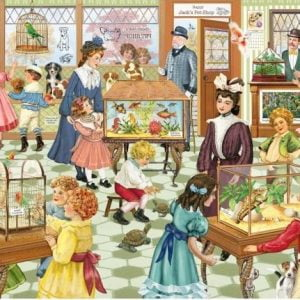Looking Back - Happy Jack's Pet Shop 1000 Piece Puzzle