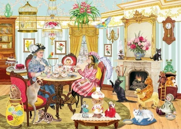 Looking Back High Tea With Mum 1000 Piece Holdson Puzzle